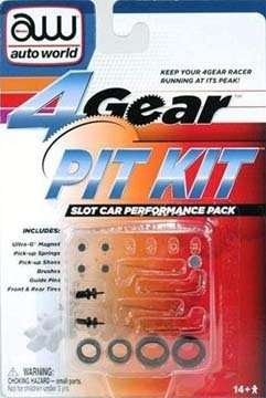 Round 2 4-Gear Slot Car Pit Kit RDZ00230 - 1