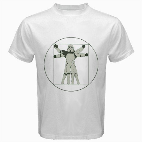Funny T-Shirts (Transparent Vitruvian) Great Gift Ideas for Adults, Men, Boys, Youth, & Teens, Collectible Novelty Shirts