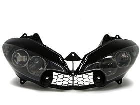 TMSu00ae 2003-2009 Yamaha R6 R6S Motorcycle Headlight Assembly 2003 2004 2005 2006 2007 2008 2009