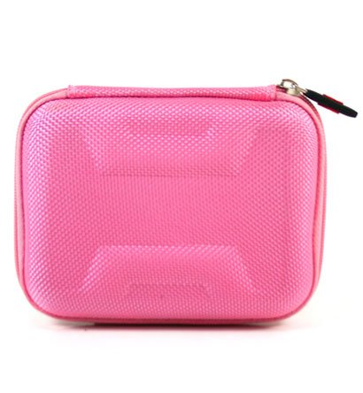 Portable Travel Hard Cover Case w/ Memory Form [ Pink ]for Verizon Jetpack MiFi 6620L Mobile Hotspot | NuVur ™ (Verizon Portable Hotspot compare prices)