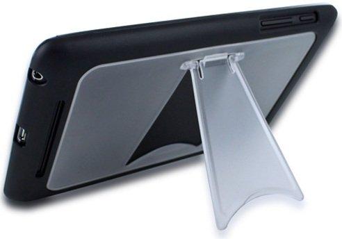 (黄金宮殿)google nexus 7 TPUスタンドケース 液晶保護フィルム セット (ブラック)