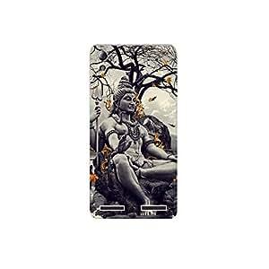 Lenovo A6000 plus nkt11_R (31) Mobile Case by Mott2 - Lord Shiva