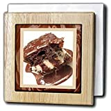 Hot Fudge Sundae Cake - 6 Inch Tile Napkin Holder