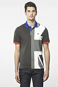 Short Sleeve Pique United Kingdom Flag Polo