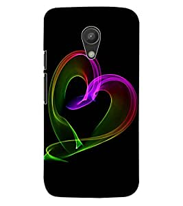 ColourCraft Colour Art Design Back Case Cover for MOTOROLA MOTO G2