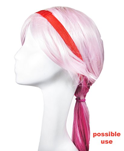 "HipGirl Ribbon, Trim and Elastic Value Pack (12x1yd 5/8"" FOE Fold Over Elastic for Stretch Headbands)"