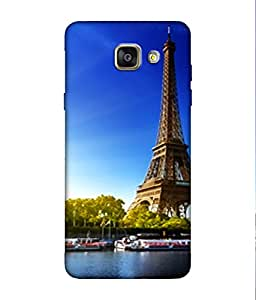 small candy 3D Printed Back Cover For Samsung Galaxy A3 2016 -Multicolor city