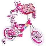 Barbie Girl's Barbie Bike, 12-Inch, Pink/White
