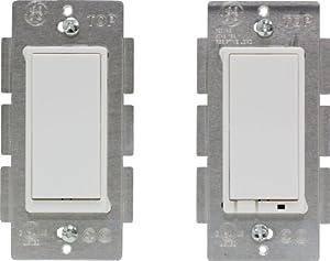 GE Z-Wave Wireless Lighting Control Three-Way On/Off Kit