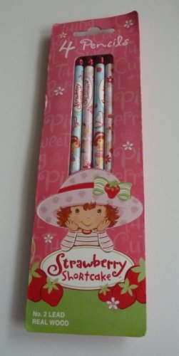 Strawberry Shortcake Pencil 4 pack