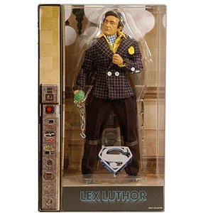 : Mattel DC Universe 2011 Movie Masters Exclusive 12 Inch Deluxe Action Figure Gene Hackman as Lex Luthor