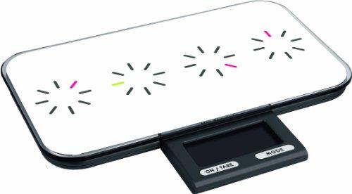 Zak Designs 88-444TW Balance de Cuisine Électronique Tic Tac Blanc