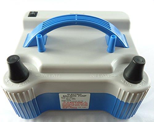 Riorand Electric Portable Household Air Blower Balloon Air Pump Inflator With 18000Pa Dual Nozzle 1000L/Min Air Volume