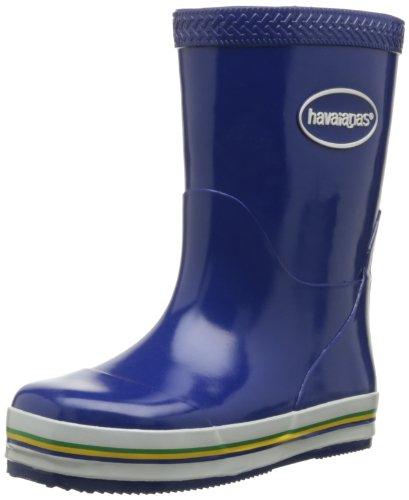 Havaianas Aqua Kids Rain Boots, Stivali di gomma Unisex-bambino, Marine Blue, 33 EU