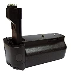 HAHNEL BATTERY GRIP FOR CANON 5D MARK II, AA CHARGER AND INFRA RED REMOTE