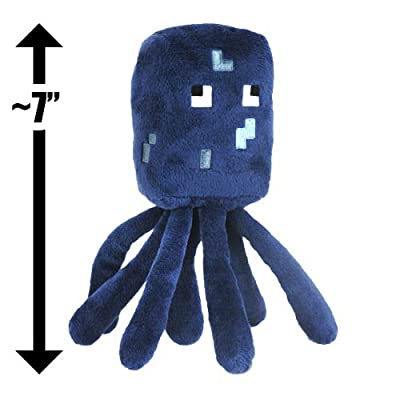 Squid 7 Minecraft Overworld Mini-plush Series from Jazwares