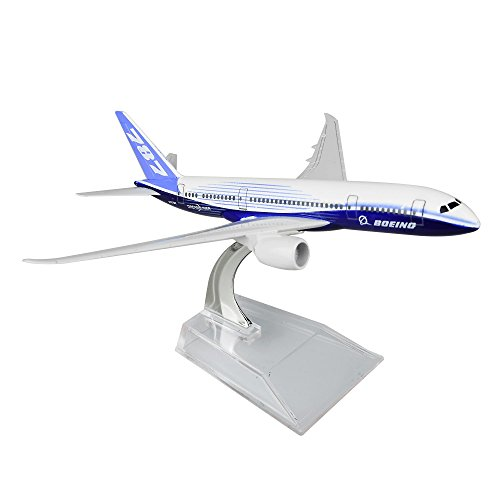 Boeing 787 Dreamliner 16cm Metal Airplane Models Child Birthday Gift Plane Models Home Decoration (Boeing 787 Model compare prices)