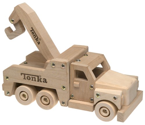 Tonka Wooden Tow Truck Playset - Buy Tonka Wooden Tow Truck Playset - Purchase Tonka Wooden Tow Truck Playset (Manley, Toys & Games,Categories,Play Vehicles,Wood Vehicles)