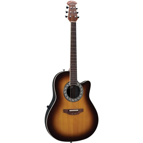 Ovation Pro Balladeer 1771Vl-1 Acoustic-Electric Guitar, Sunburst