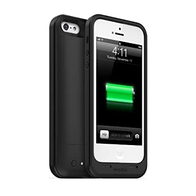 【日本正規代理店品】mophie juice pack air for iPhone 5 ブラック MOP-PH-000030