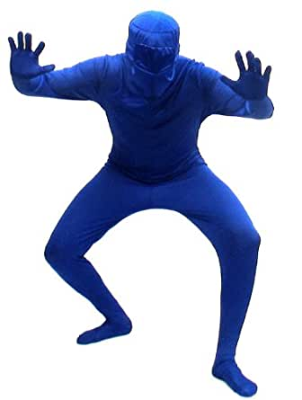 Blueman Bodysuit Costume Adult X-Large