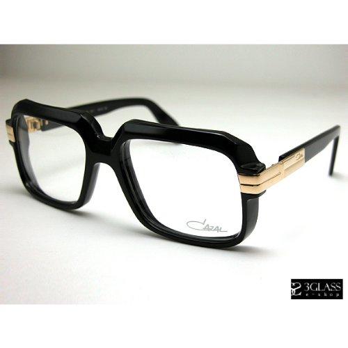 超プレミアCAZALカザール 607モデル001カラー(黒セル/クリアレンズ) [ウェア&シューズ]