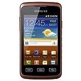 "Samsung Galaxy Xcover S5690 Smartphone (9,3 cm (3,65 Zoll) Display, Touchscreen, 3,0 Megapixel Kamera, Android 2.3) black-orangevon ""Samsung"""