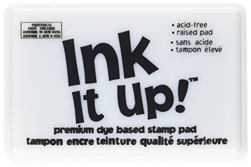 Darice Dye Based Stamp Pad, Black (Dye Based Stamp Pad compare prices)