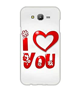 Printvisa Love Proposal Quote Back Case Cover for Samsung Galaxy J7::Samsung Galaxy J7 J700F