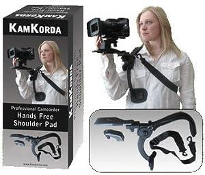 KamKorda Manos Soporte de hombro libre para videocámaras profesionales
