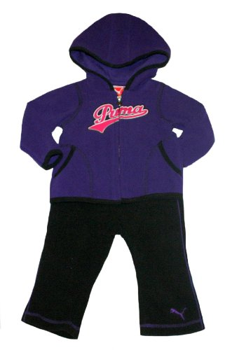 Puma Baby Girl'S Jacket And Pants Set (3-6 Months) front-229448