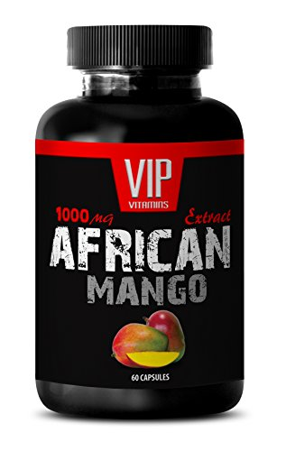 African Mango Cleanse - African Mango Extract 1000mg - Pure African Mango 4:1 Extract - African Mango Weight Loss (1 Bottle 60 Capsules)