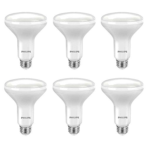 Philips 462291 65W Equivalent Daylight BR30 Led Light Bulb, 6-Pack, (Kitchen Light Bulbs compare prices)