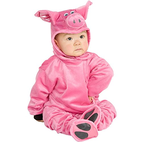 [Baby Infant Pig Costume (Size: 12-18 Months)] (Pig Costume Nose Ears Tail)