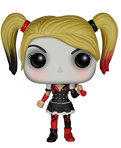 Funko - Figurine Batman Arkham Knight - Harley Quinn Pop 10cm - 0849803063849