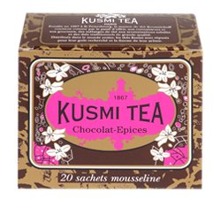 Kusmi Spicy Chocolate Teabags 155-ounce Boxes Pack Of 2 from Kusmi