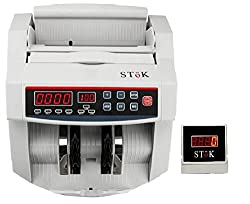 SToK ST-MC01 Cash / Bill / Currency/ Money / Note Counting Machine with Fake Note Detector & LED Display - 1 Year Warranty