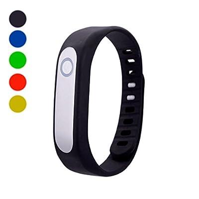 DDLBiz Bluetooth Smart Wrist Fitness Tracker Sports Bracelet Wristband for IOS Android
