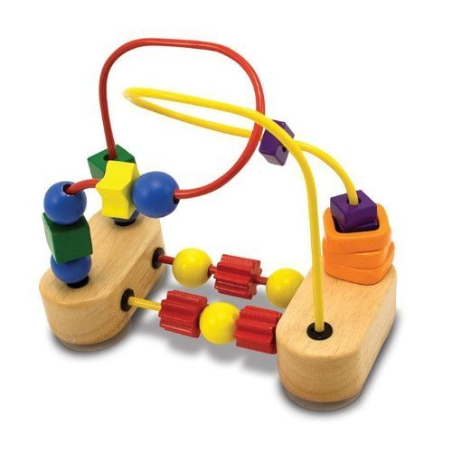 41TKSVcmoRL Melissa &amp; Doug Deluxe First Bead Maze