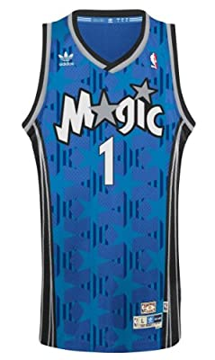 Tracy McGrady Orlando Magic Adidas NBA Throwback Swingman Jersey - Blue