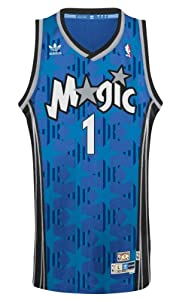 Tracy McGrady Orlando Magic Adidas NBA Throwback Swingman Jersey - Blue by adidas