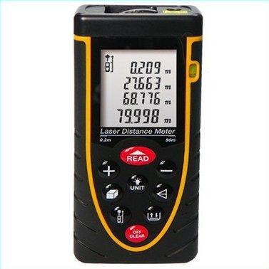 Rz-80 80M Laser Distance Meter Rangefinder Distance Meter Measurement