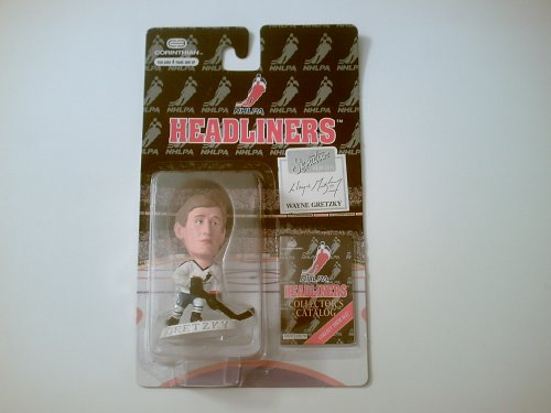 WAYNE GRETZKY / NHLPA SIGNATURE SERIES * 3 INCH * 1996 NHL Headliners Hockey Collector Figure - 1