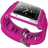 Luna TTMAG-007 LunaTik TikTok Watch Wrist Strap for iPod Nano 6G - Magenta
