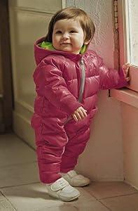 combinaison manteau doudoune ski sports d 39 hiver b b enfant rose 12 18 mois b b s. Black Bedroom Furniture Sets. Home Design Ideas