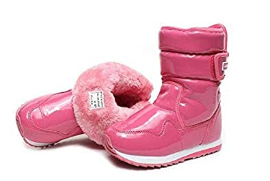 Amazon.com: Pink Thermal Russian Toddler Winter Boots Warm