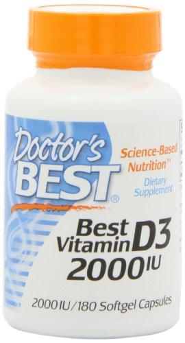 Best Best vitamine D3 de Doctor 2000 UI, Softgel