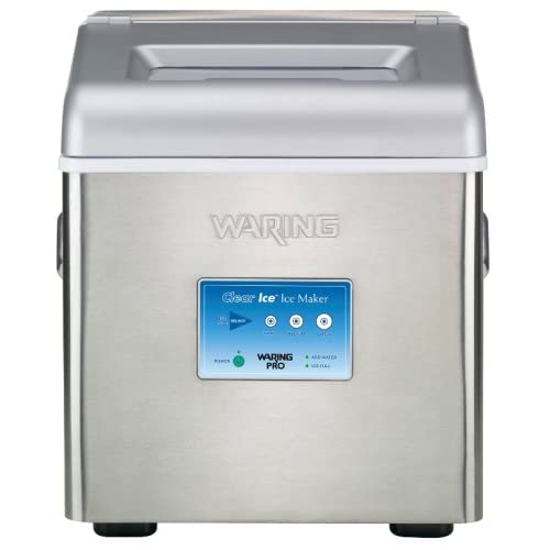 Waring Pro WIM30 Clear-Ice Professional Portable Electronic Ice Maker