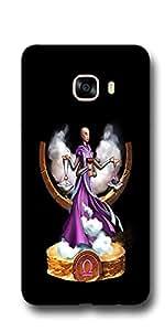 SEI HEI KI Designer Back Cover For Samsung Galaxy C7 - Multicolor