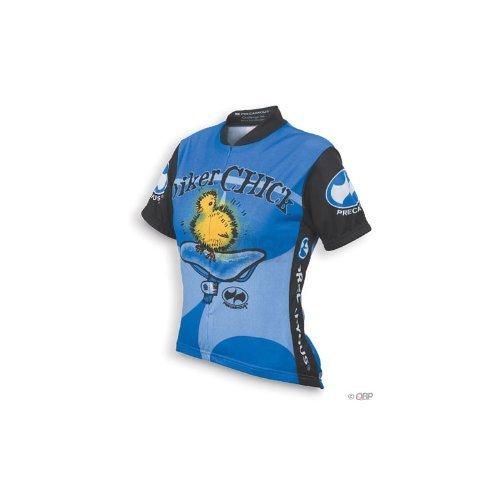 Buy Low Price World Jerseys Women's Biker Chick Cycling Jersey: Blue; LG (CL5084)